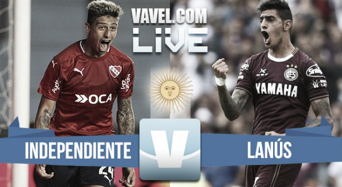 Resultado de Independiente vs Lanús (1-1)