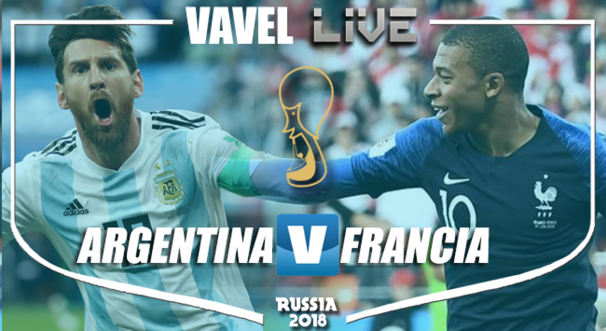 Resumen Argentina 3-4 Francia en Mundial Rusia 2018