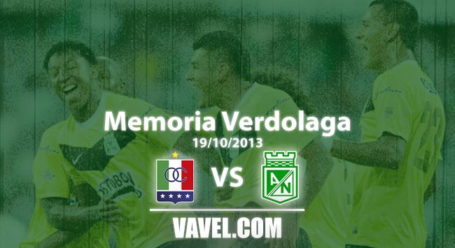 Memoria 'verdolaga': Osorio y una victoria en Manizales gracias a un gol de Jefferson Duque