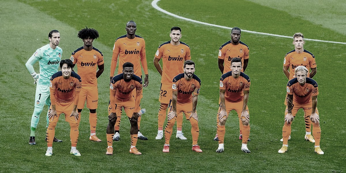 Once inicial del Valencia CF durante esta temporada. | Fuente: Valencia CF