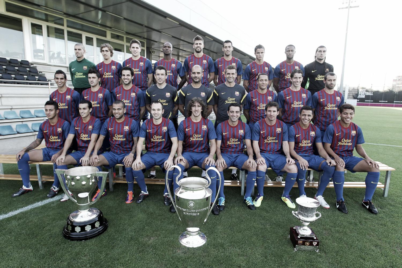 Puntuaciones del Barcelona 2011/12