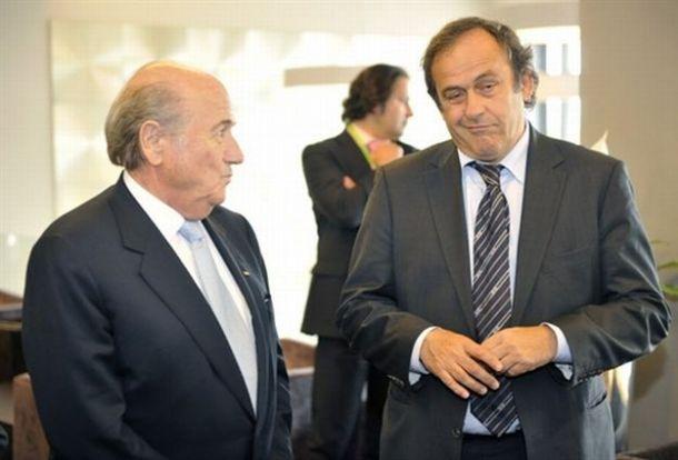 """FIFA, Platini: """"Blatter vattene, sono disgustato. Domani si cambia"""""""