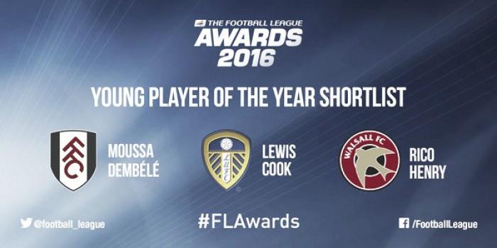 Moussa Dembelé, Lewis Cook y Rico Henry, nominados al jugador joven del año en la Football League