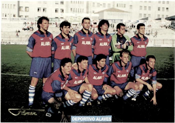 Alavés vs Las Palmas, 1995: una victoria, que supuso un ascenso