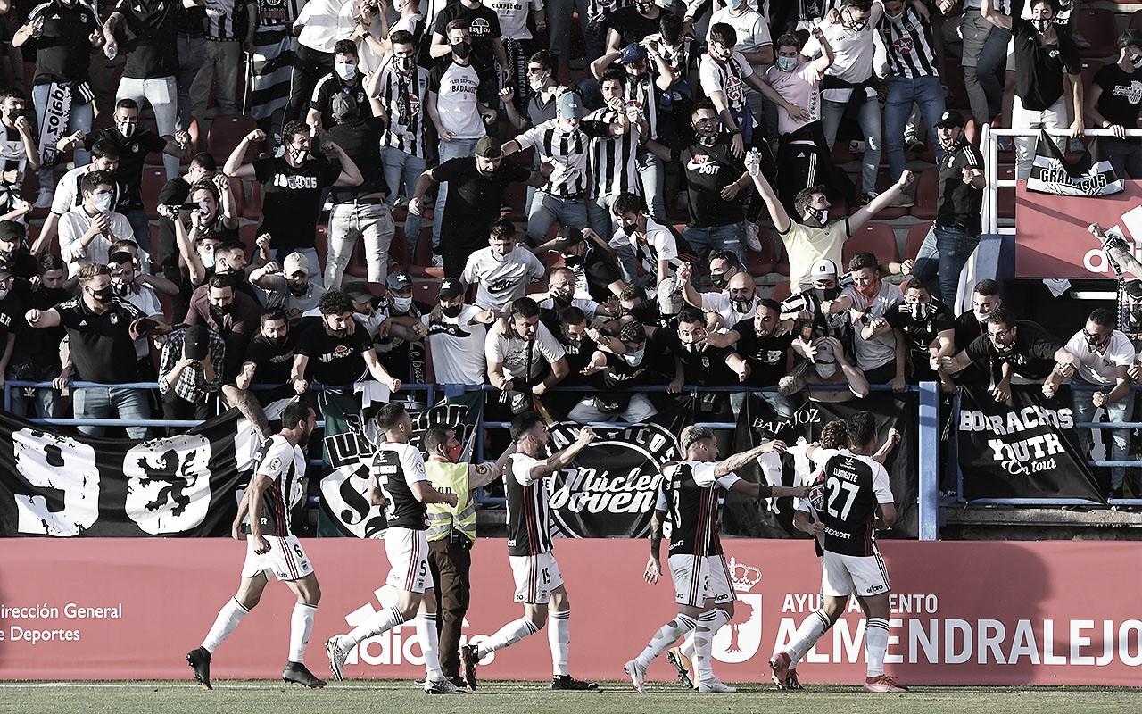 El CD Badajoz está a 90 minutos de Segunda División