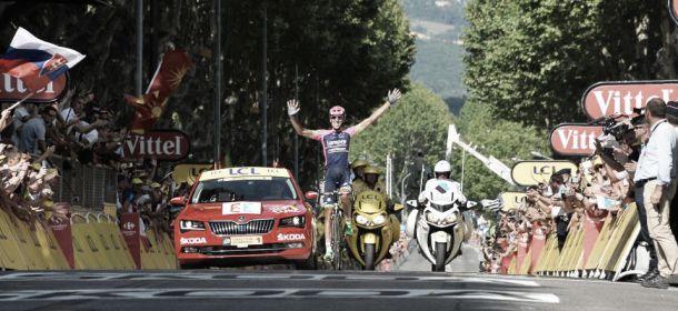 Tour de France, a Gap vince Plaza. Sagan ancora beffato. Nibali recupera 28 secondi in classifica generale