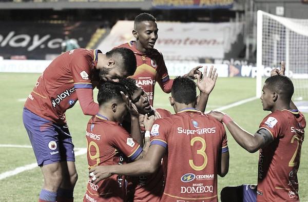 No levantó el volcán: Deportivo Pasto perdió 1-2 con Deportivo Pereira