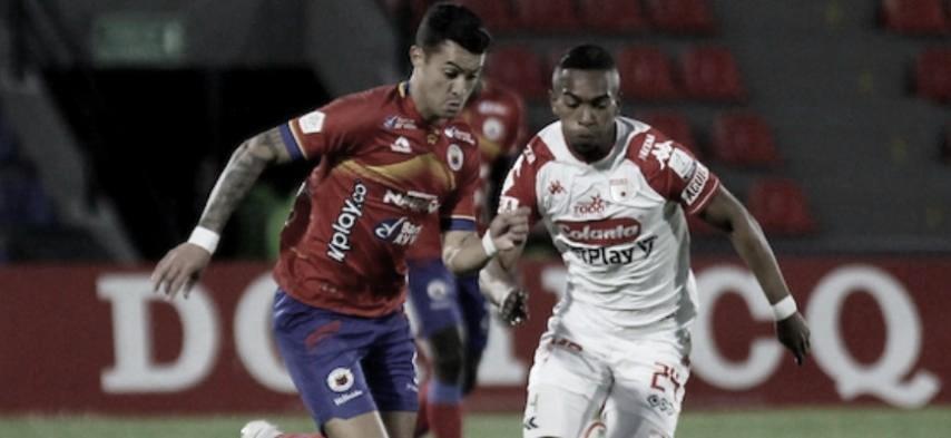 Puntuaciones de Santa Fe tras la victoria ante Deportivo Pasto
