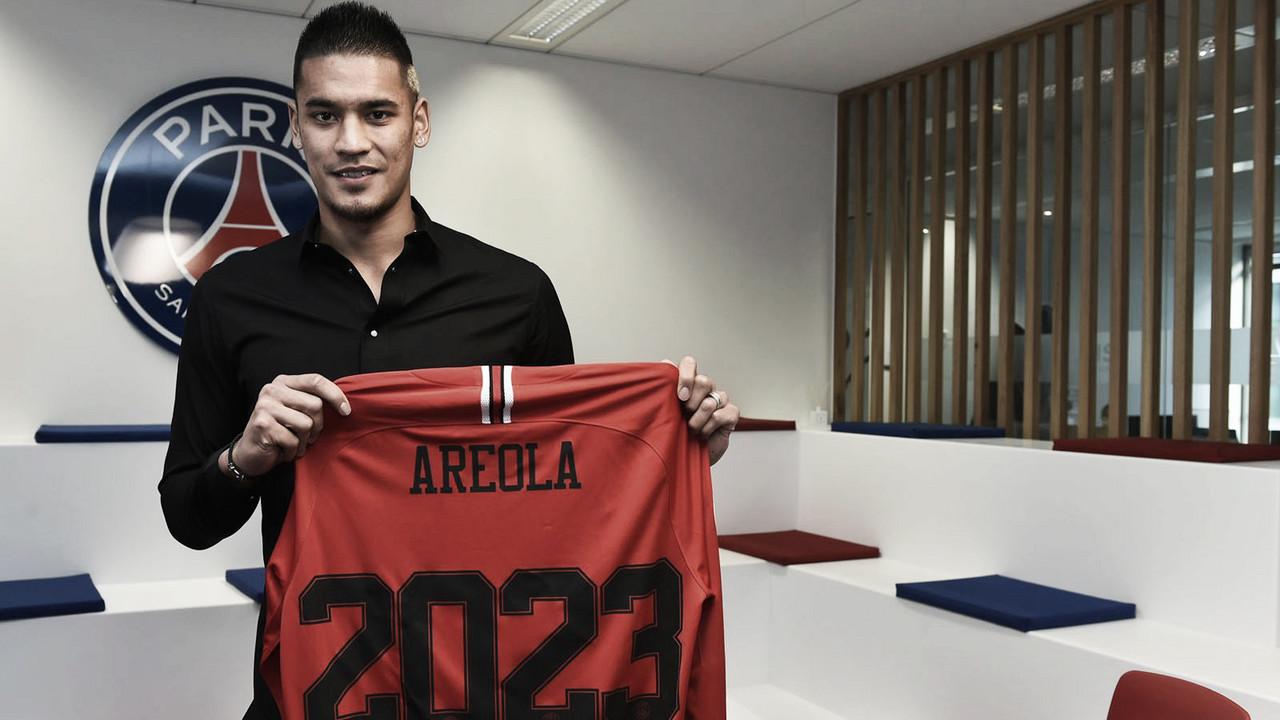 Vinculado ao clube desde 2006,Aréola renova com Paris Saint-Germain até 2023
