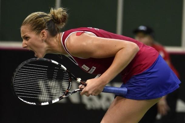 Fed Cup Final: Karolina Pliskova's Win Over Anastasia Pavlyuchenkova Sends Final To A Deciding Doubles Match