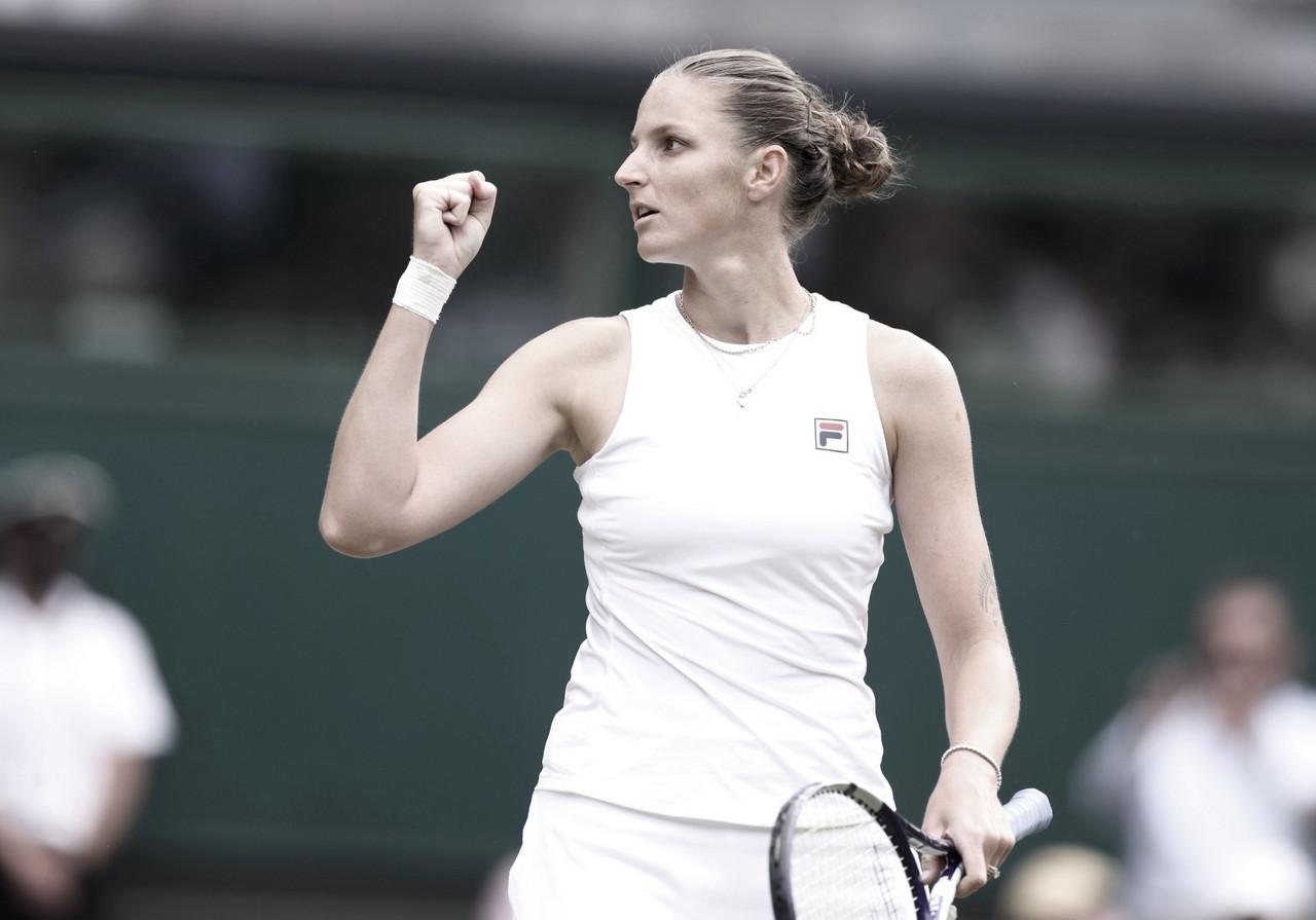 Pliskova vira contra Sabalenka em Wimbledon e vai em busca de maior título da carreira