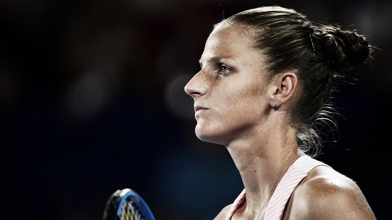 """""""Não há motivos para sair desapontada"""", afirma Pliskova após queda nas semifinais"""