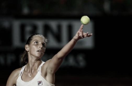 Atual campeã, Pliskova vence duelo tcheco contraStrycova em Roma