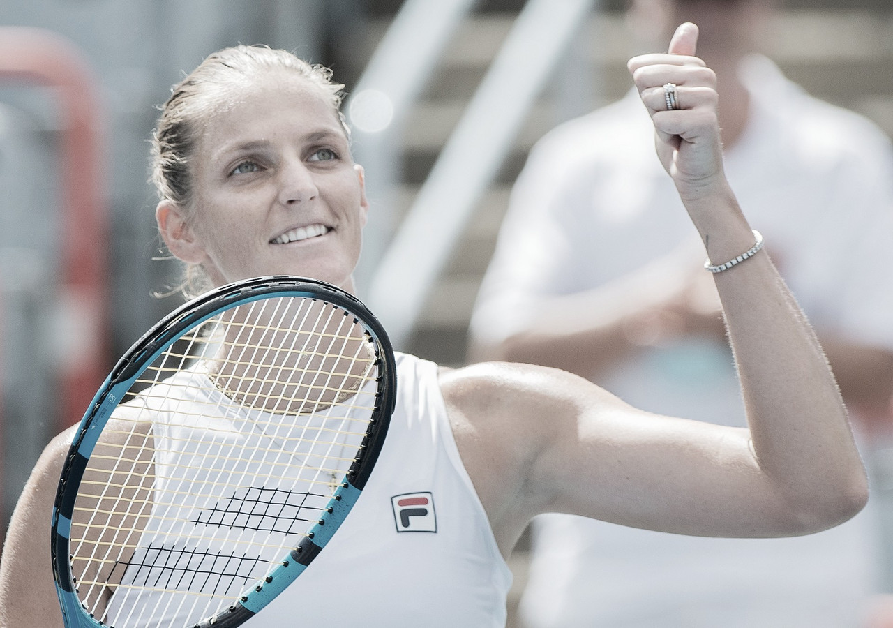 Pliskova repete resultado de Wimbledon, elimina Sabalenka e vai à final em Montreal