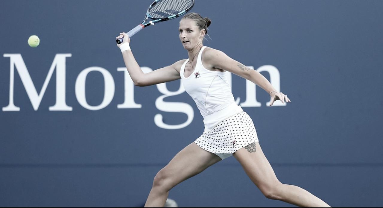Pliskova derrota Tomljanovic em sets diretos e vai às oitavas no US Open