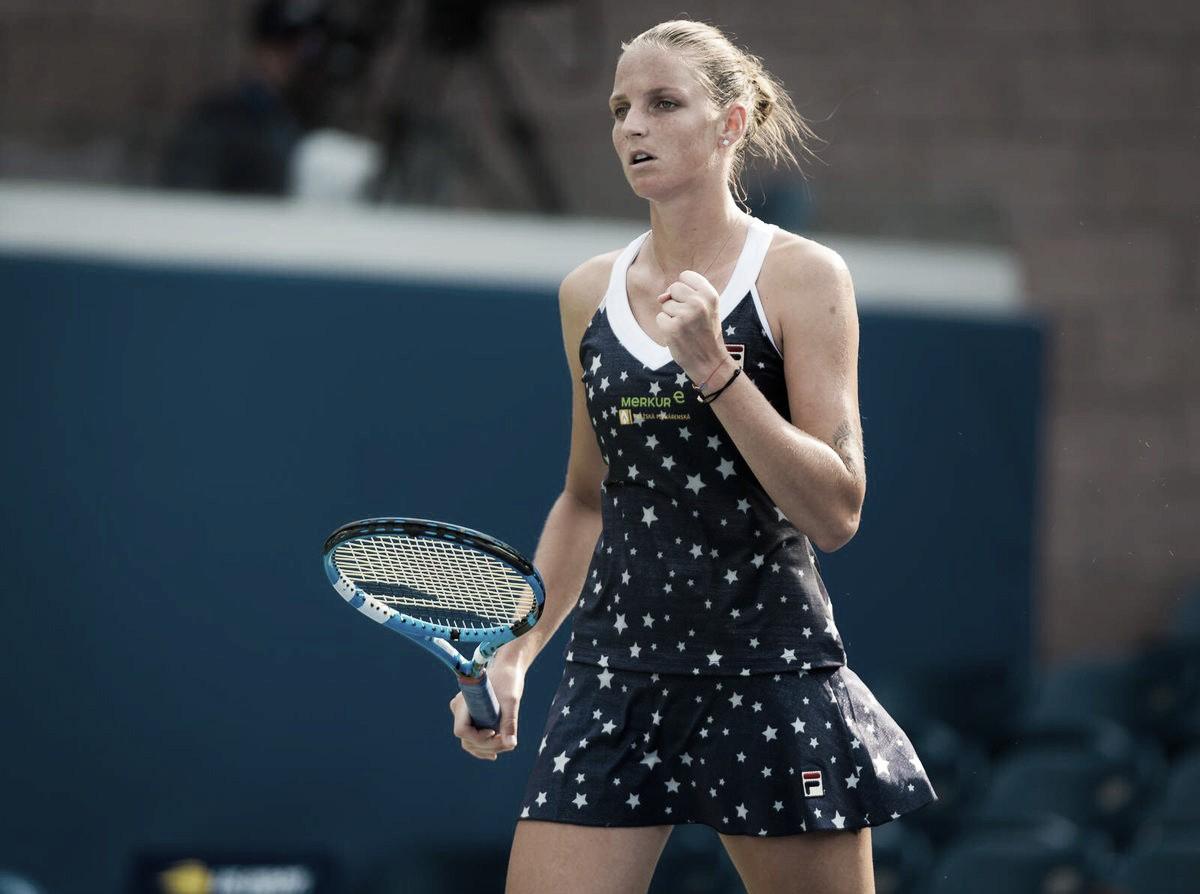 Pliskova vence Bogdan com conforto no US Open
