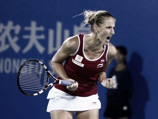 WTA Elite Trophy, è la Pliskova la seconda finalista