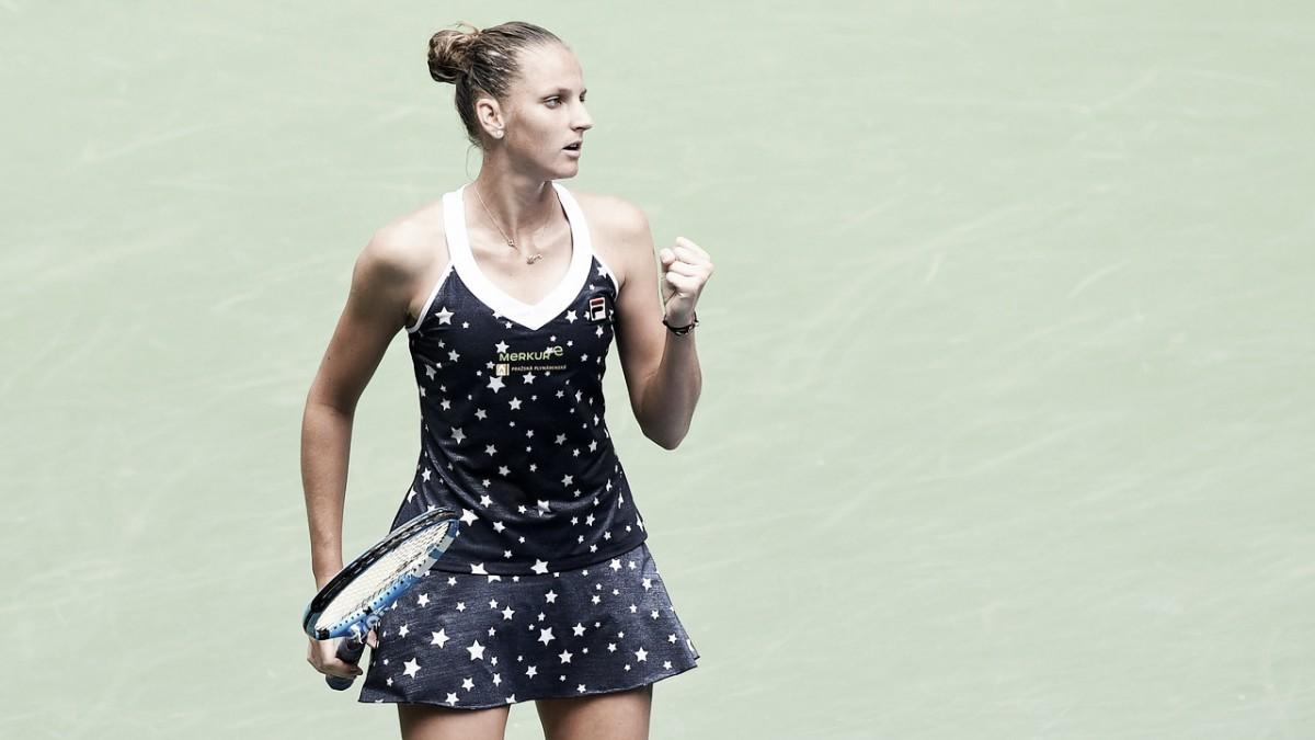 Pliskova vence Barty com autoridade e volta às quartas do US Open