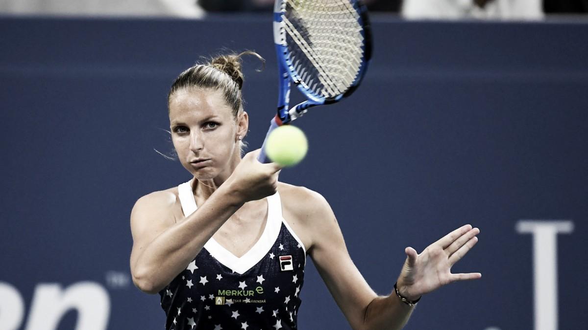Pliskova supera jogo duro contra Kenin e avança no US Open