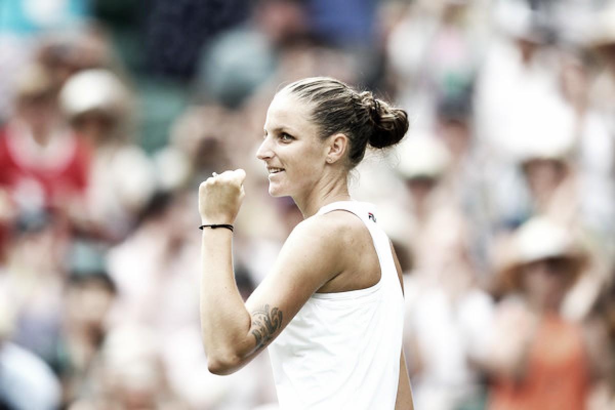 Wimbledon: Karolina Pliskova ousts Victoria Azarenka in blockbuster clash