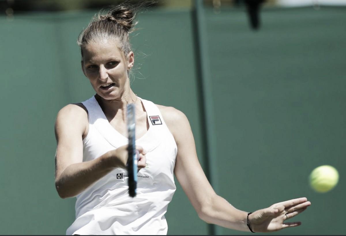 Karolina Pliskova passa sufoco contra wildcard Harriet Dart, mas vence na estreia em Wimbledon