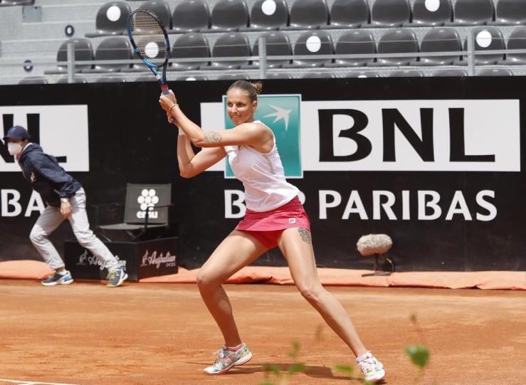 Semifinales en Roma: Pliskova ante Martic