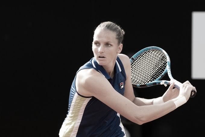 Pliskova domina Konta e garante título do Premier 5 de Roma