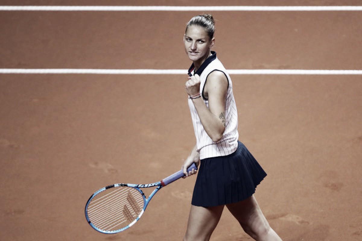WTA Stuttgart: Karolina Pliskova whitewashes Anett Kontaveit in comfortable fashion