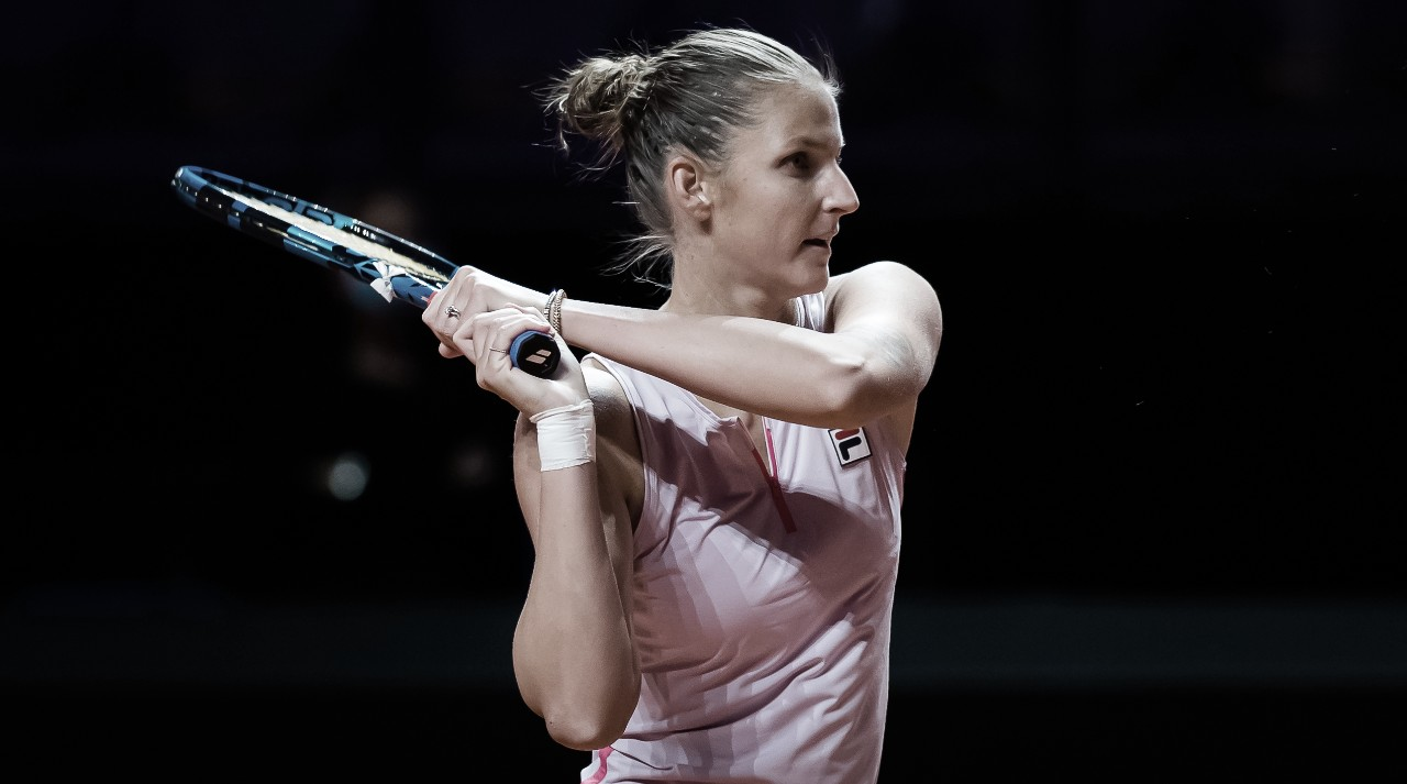 Pliskova sofre, mas bate Korpatsch em Stuttgart; Kerber avança para enfrentar Svitolina