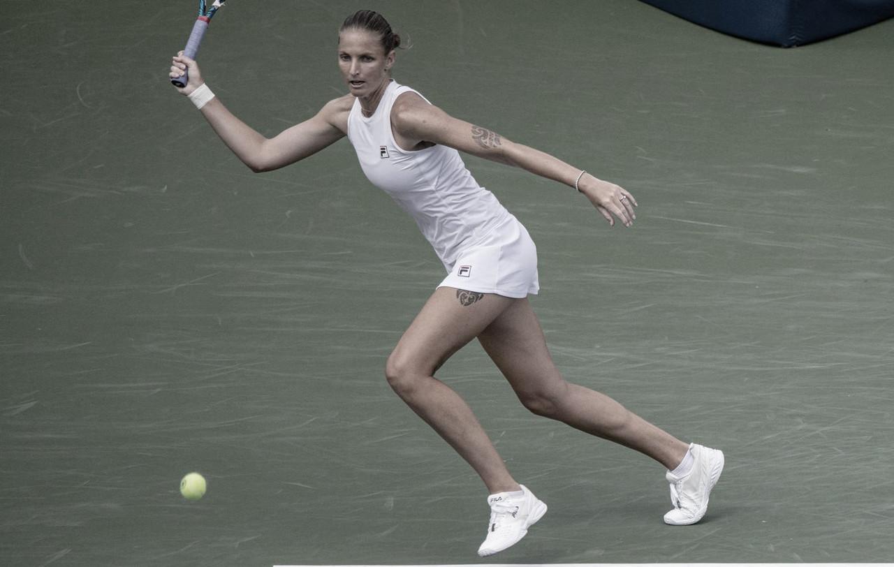Pliskova quebra escrita e bate Pegula em Cincinnati; Krejcikova e Kvitova buscam grandes vitórias