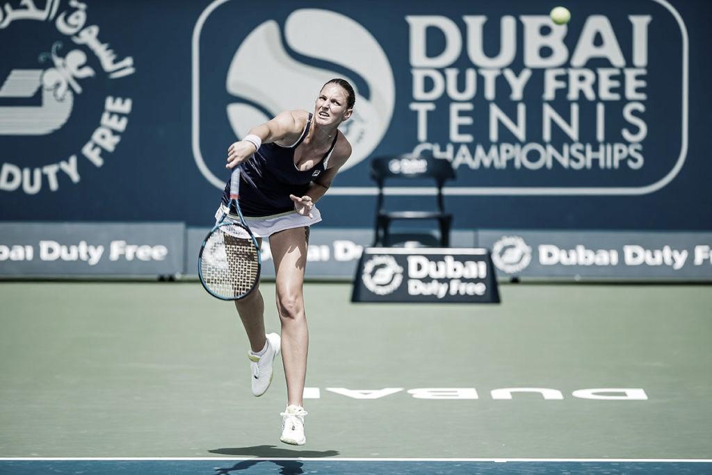 Pliskova, Gauff e Bencic avançam em partidas de três sets em Dubai; Keys é surpreendida