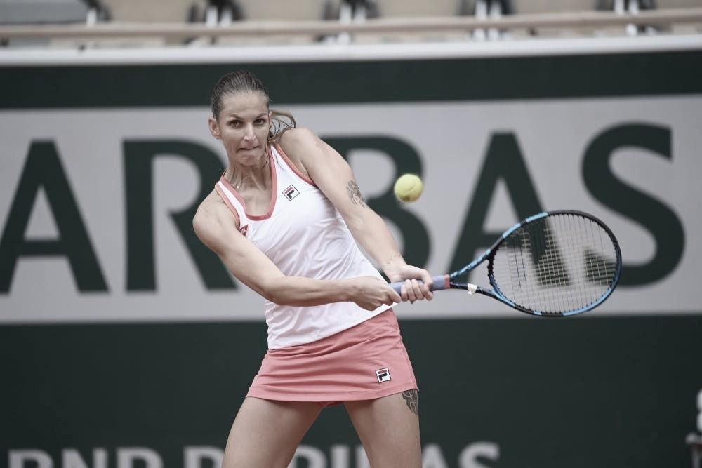 Pliskova tem trabalho, mas supera estreante Sherif em Roland Garros