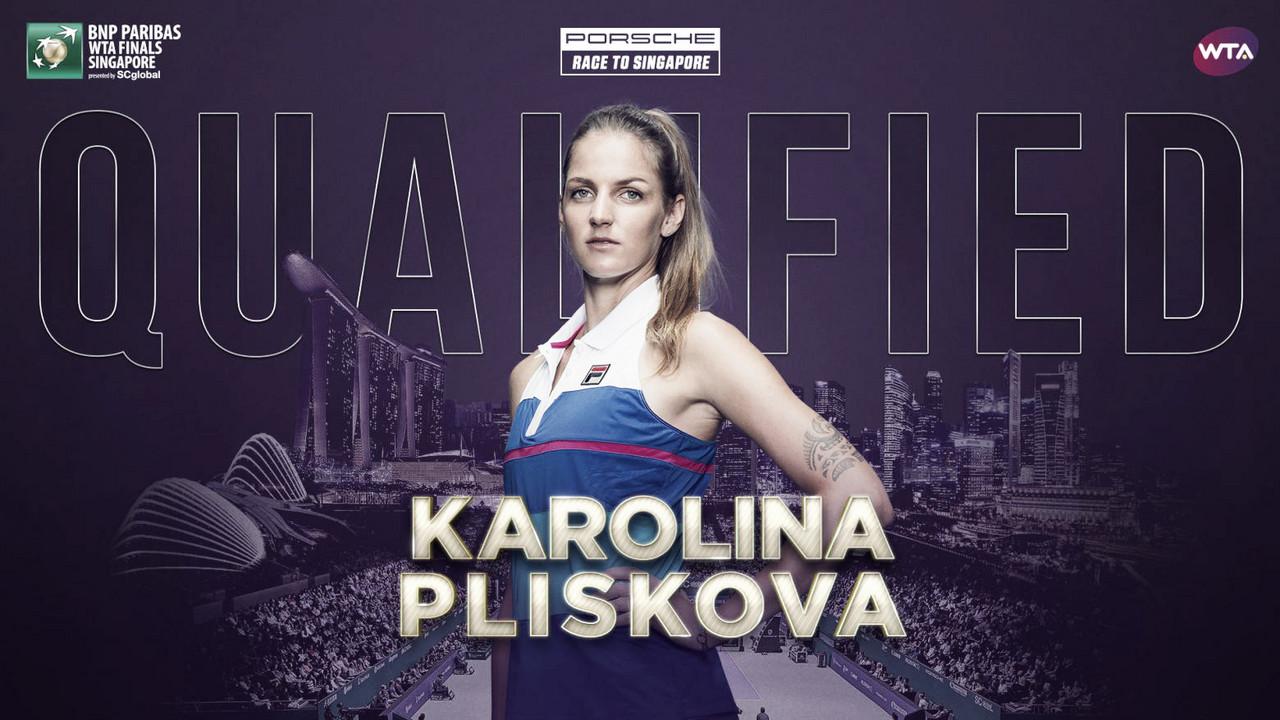 Karolina Pliskova qualifies for WTA Finals