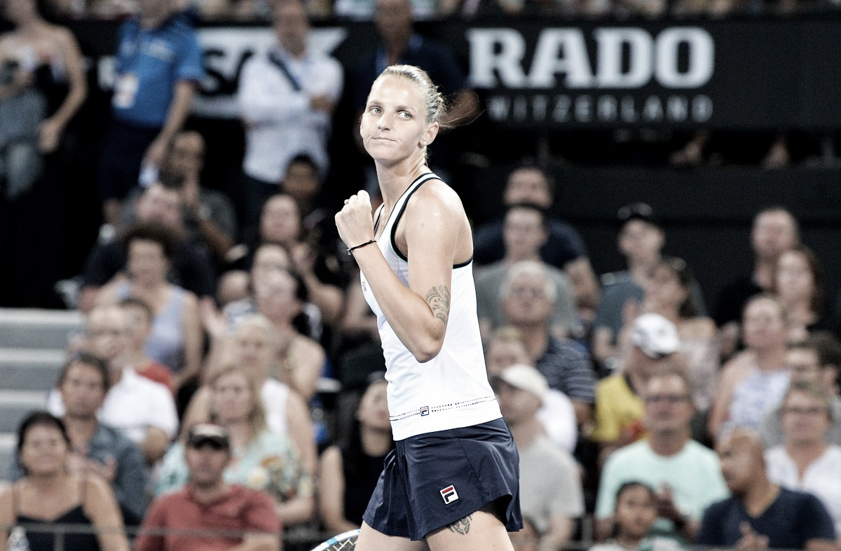 Pliskova derrota Tomljanovic e vai às semis em Brisbane pelo terceiro ano seguido