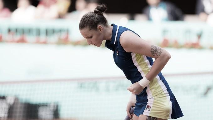 Pliskova domina Tomljanovic e supera estreia em Roma