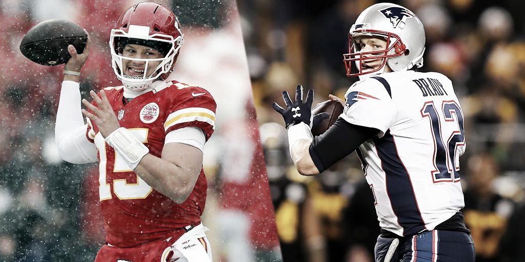 Claves para el duelo entre New England Patriots - Kansas City Chiefs: quien tenga una ofensiva mas efectiva ganará el juego