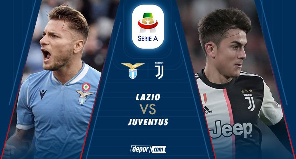 Lazio vs Juventus EN VIVO y en directo online en Serie A 2019