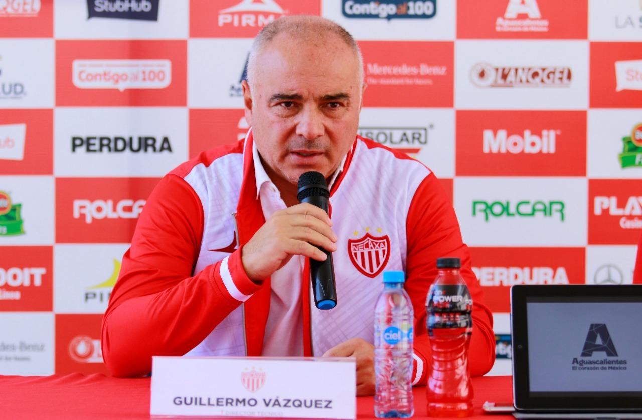 Guillermo Vázquez, contento de regresar a Ncaxa