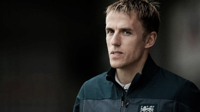 Phil Neville named the new head coach of the 'Lionesses'