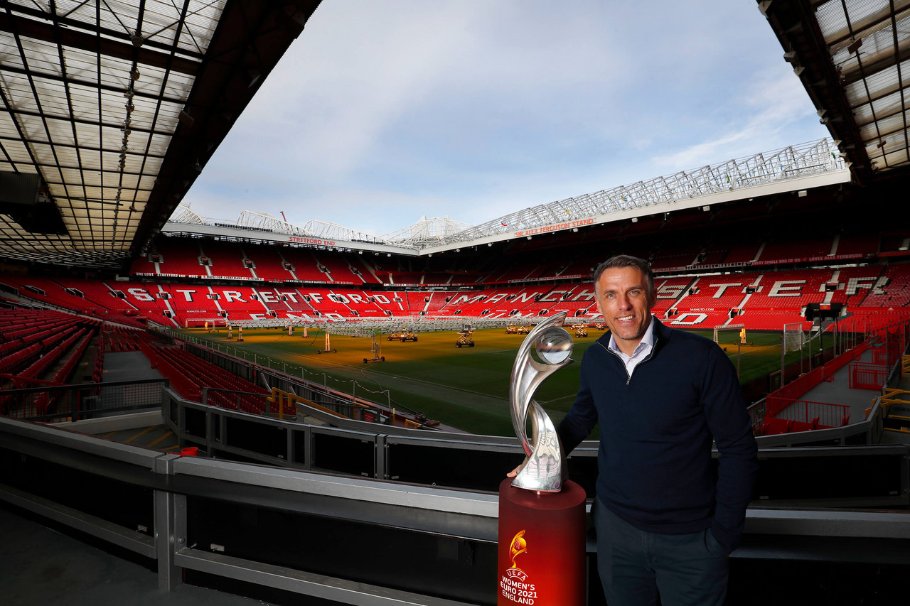 Old Trafford will host first Lionesses match of 2021 Women's Euro
