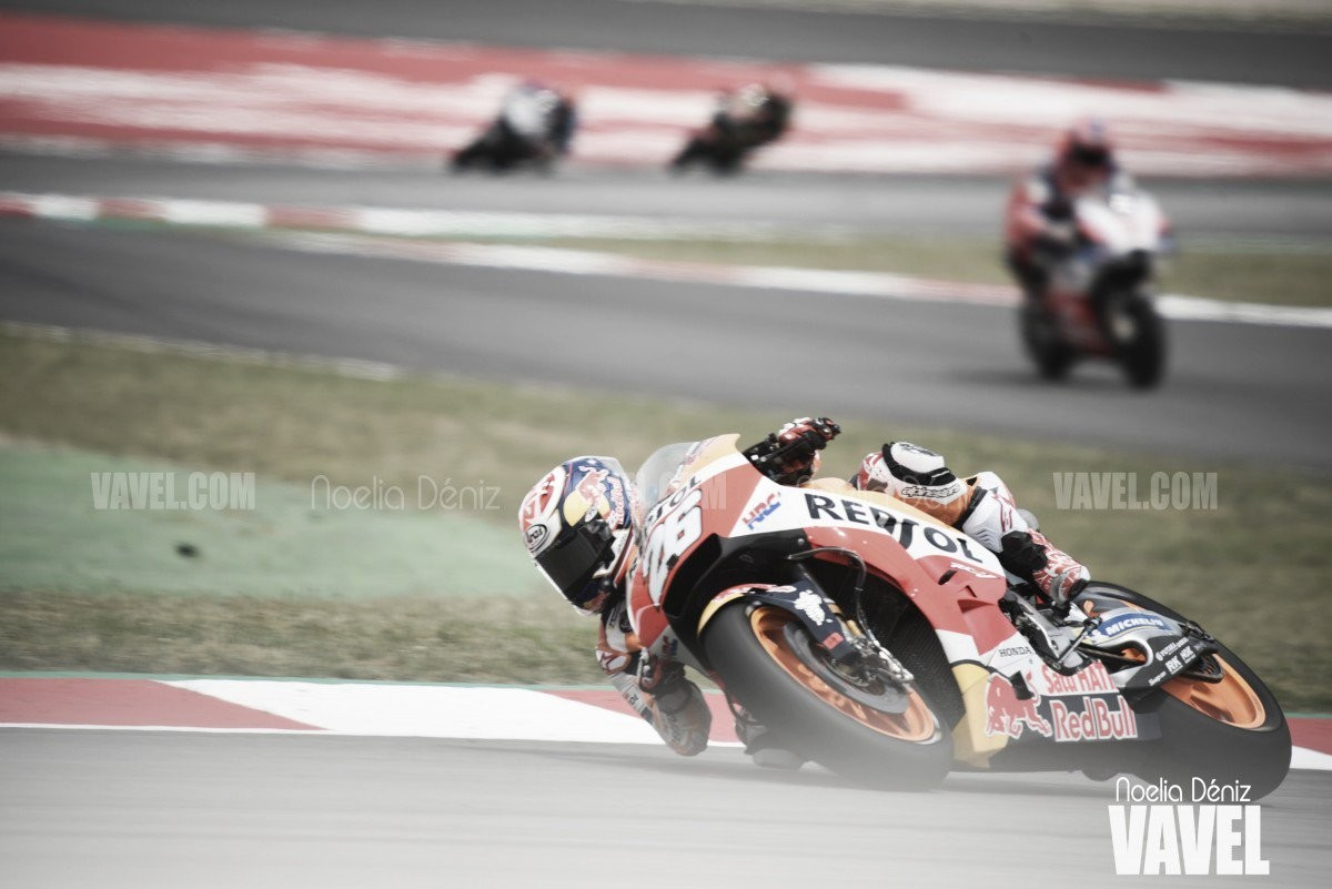 Gp Olanda, Marquez in pole position, terzo Rossi