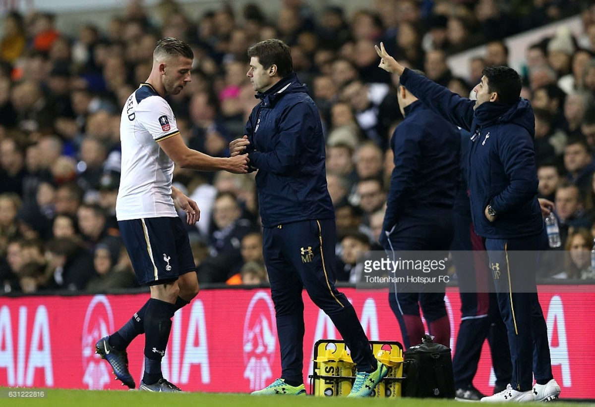 Alderweireld Premier League return against Palace uncertain, says Pochettino
