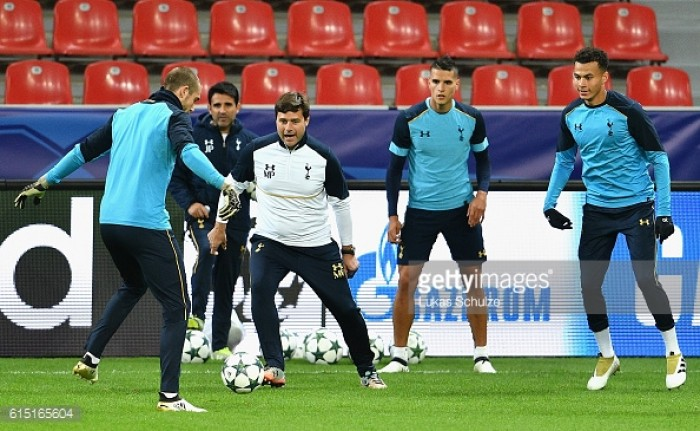 Competition for places helps us deal with injuries, says Pochettino