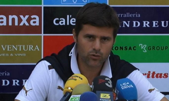 Pochettino: ''Me cansa un poco hablar de Álvaro''