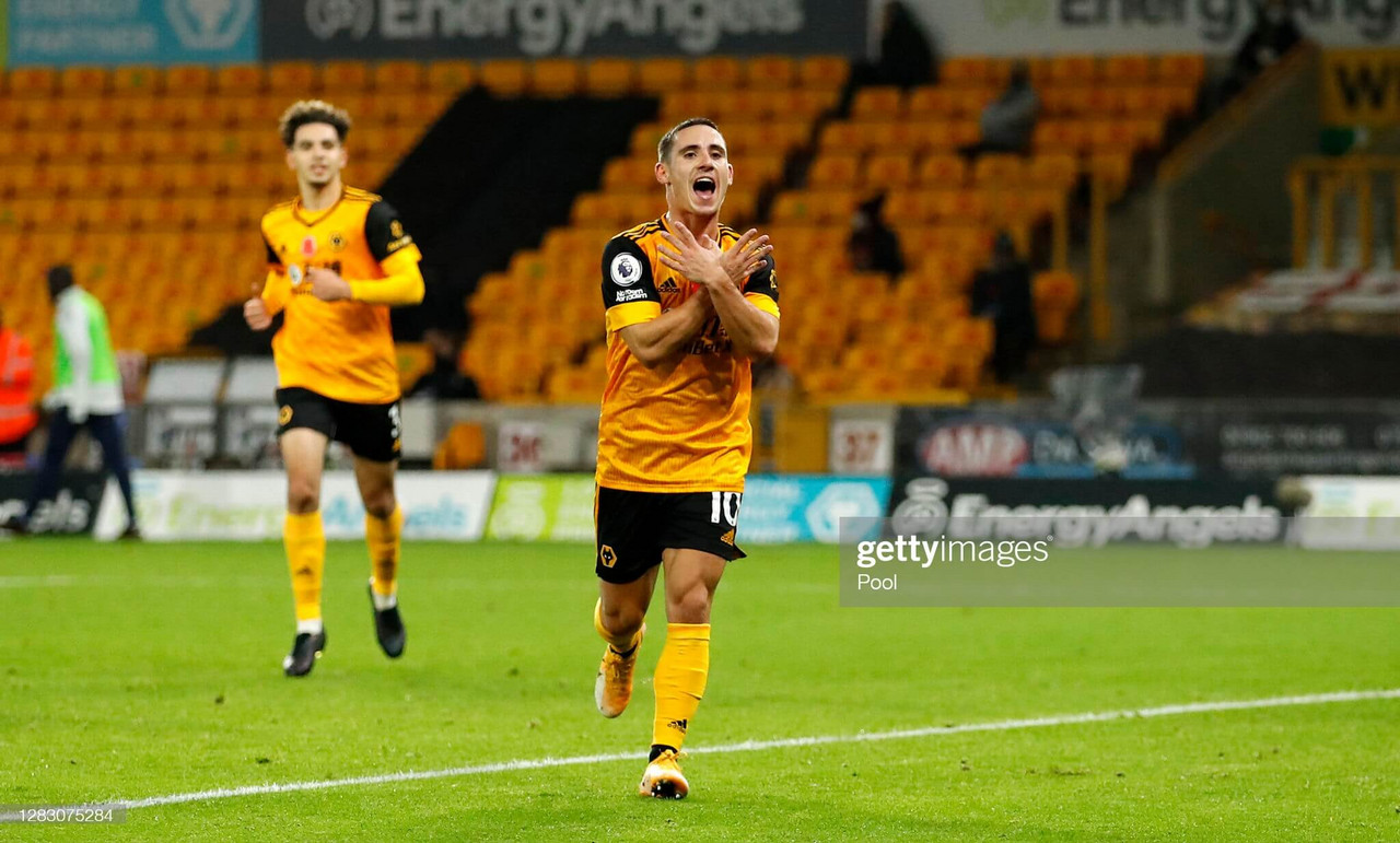 """Wolves' Daniel Podence says his injuries have been """"very hard"""""""