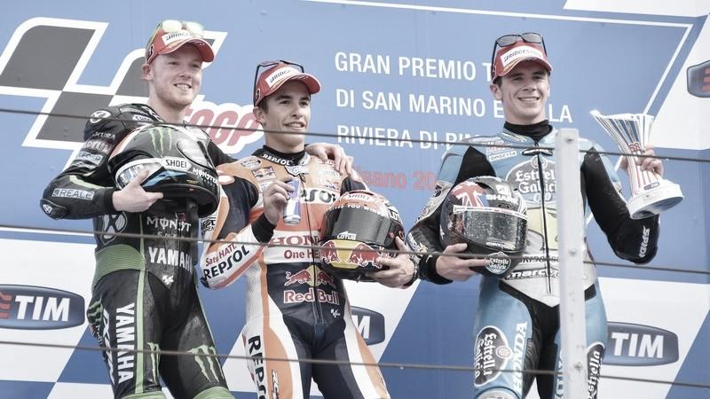 Flashback Misano 2015 MotoGP: un Mundial en juego en una carrera con dos cambios de moto