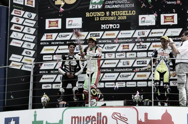 CIV, MUGELLO: In gara1 riscatto di Bezzecchi (Moto3) e Roccoli (Supersport), allungo e riconferma di Pirro (Superbike) e di Taccini (Premoto3)