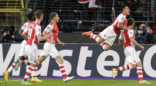 Anderlecht 1-2 Arsenal: Gibbs and Podolski late show gets Gunners all three points