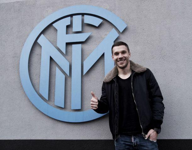 """Podolski: """"Possiamo arrivare in Champions. Grazie a Mancini e Ausilio per avermi portato qui"""""""