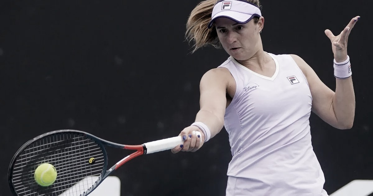 Podoroska surpreende Kvitova e vence longa disputa no Yarra Valley Classic